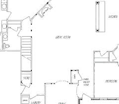 grand staircase floor plans staircase floor plan