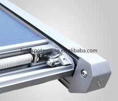Awning System Folding Sun Shade Canopy Pergola Roof Awning System Aluminum