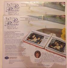 scrapbook page protectors creative memories original page protectors ebay