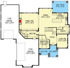 plan 290028iy two story house plan with six bedroom potential