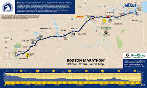 Red Line Mbta Map by A Spectator U0027s Guide To The Boston Marathon