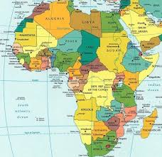 africa map countries and capitals list of countries and capitals maps charts map info