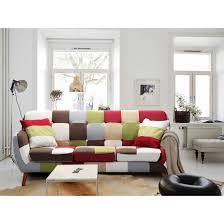 canap style cagne scandinave 3 places rainbow