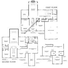 model homes floor plans marion marion model in the hawthorn woods country subdivision in
