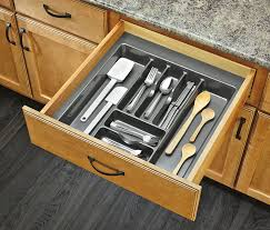 Kitchen Drawer Inserts Amazon Com Rev A Shelf Gct 4s 52 Extra Large Glossy Silver