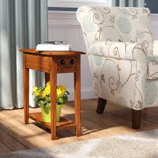 End Table Storage Charlton Home Apple Valley End Table With Storage U0026 Reviews Wayfair