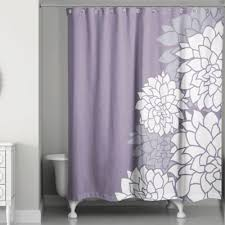 light purple shower curtain new fabulous and stunning colorful bathrooms to renew yours white