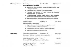sle resume office assistant 28 images administrative assistant
