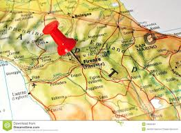 Map Of Florence Italy Map Europe Focus Italy Stock Photos 89 Images