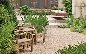 Pea Gravel Front Yard - versatility of gravel in the garden