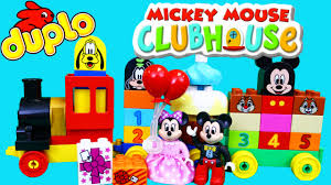 lego duplo mickey mouse clubhouse birthday parade minnie mouse