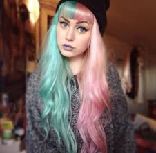 pictures of people who colored their hair with loreal feria b16 multi colored hair overtone haircare