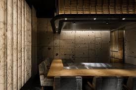 wood interior design wood ginza steak tajima design by doyle collection minimalist
