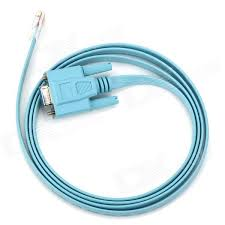 rj45 male rs232 female serial console configuration cable