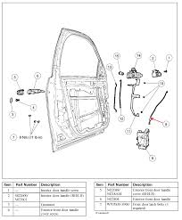 2007 ford fusion door handle recall exciting ford fusion exterior door handle replacement photos
