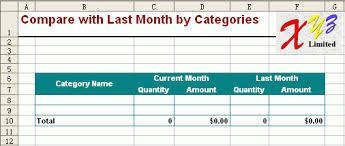 Monthly Sales Report Template Excel Free Excel Report Template Monthly Sales 6