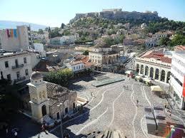 A Place Vue Vue Sur La Place Monastiraki Picture Of A For Athens Athens