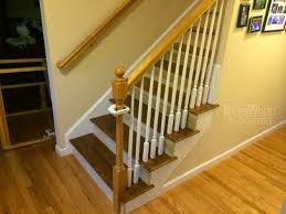 brilliant return stairs design oak stair treads with return home