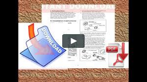 toyota corolla 2000 factory repair manual on vimeo