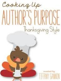 gobbling up author s purpose turkey craftivity to use with your