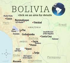 Lake Titicaca Map Best Bolivia Trips Fremen Tours