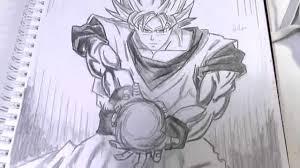 dragon ball goku speed drawing 七龍珠