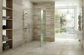 Bathroom With Open Shower Bathroom Bathroom With Open Shower Cool Glass Divider And Wooden