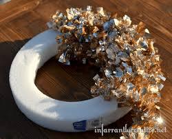 styrofoam wreath simple christmas wreath infarrantly creative