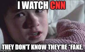 Memes Fake - image tagged in i see dead people memes fake news cnn politics