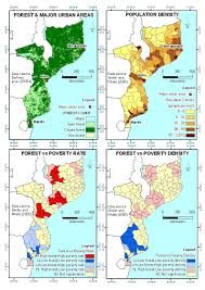 Mozambique Map Ecology And Society Why Forests Are Important For Global Poverty