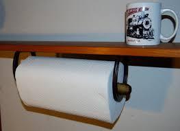 Kitchen Towel Craft Ideas Horseshoe Paper Towel Holder Under Counter Kitchen Workshop