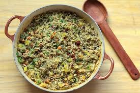 thanksgiving side dish rice pilaf csmonitor