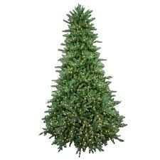 artificial trees led lights with 9 ft pre lit led