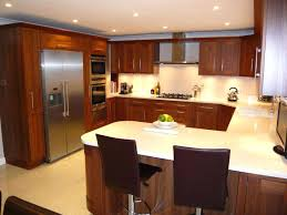 u shaped kitchen island designs l plans small layout with