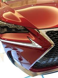 touch up paint for lexus lexus nx 200t shows up in new matador red mica autoevolution