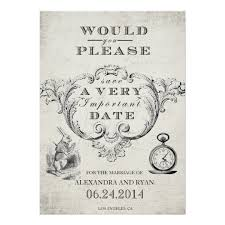 vintage in save the date card zazzle
