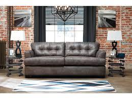 Charcoal Sofa Bed Inmon Charcoal Sofa U0026 Loveseat