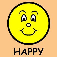 free the word happy clipart image 9725 the word happy clipart