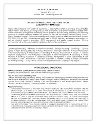 resume examples laboratory manager resume business charts sample