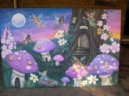 Best Nursery Images On Pinterest Tree Murals Fairy Bedroom - Girls bedroom wall murals