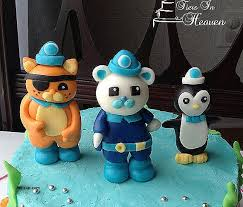 octonauts cake topper birthday cakes octonauts birthday cake toppe hic cup