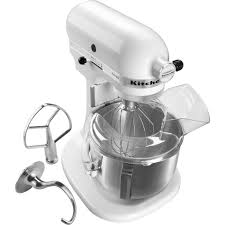 Kitchenaid Mixers On Sale by Kitchenaid Ksm500pswh 5 Qt Pro 500 Series Stand Mixer