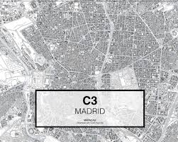 Madrid Map Download Any Cad Map City Mapacad