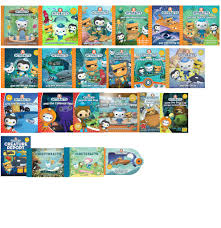 octonauts series 22 book collection pack illustrated pictures