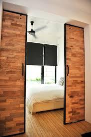 bedroom a minimalist house design with indoor garden decoration