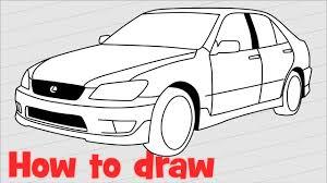 lexus is200 sport breaking how to draw a car lexus is 200 sport
