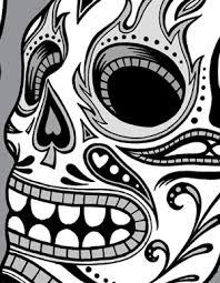 day dead clipart skulls vector genius
