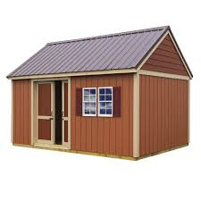 handy home products installed meridian 8 ft x 10 ft wood storage