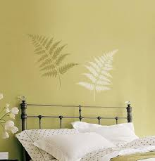 extra large wall stencils beautiful and easy decoration image of extra large wall stencils in bedroom