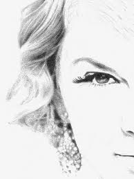 taylor swift drawing on behance